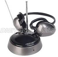 Casti wireless cu radio FM